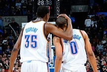 THUNDER UP / just some good ol' boys in OKC / by Georgeanne Yehling