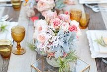 centerpieces/table settings / by Teresa Andersen