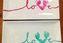 Baby Handprint & Footprint Crafts / by BabyList Baby Registry
