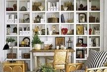 Bookshelves / by Barbara Ward
