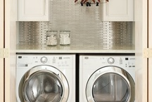 The Home  ~  Laundry/Mudroom - where sometimes we get hung out to dry lol / by Barbara Ward