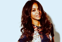The 1 & Only Zoe Saldana / Miss Zoe is my favorite actress, she is incredibly talented, so beautiful & seems to be really down to earth.