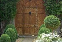 garden gates and tiny cottages / by Teresa Andersen