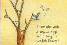 like birds sing / by Georgeanne Yehling