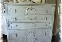 Vintage White Furniture / Chests, Dressers and more!