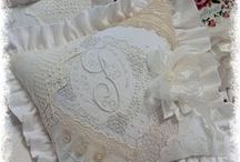 Vintage White Handwork / This sweet little board will be for showcasing works of art created long ago by talented hands.  Crochet, lace, embroidery, knitting and so much more!