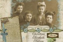 heritage scrapbooking / by LM