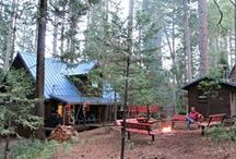 The cabin under the pines / Our family cabin...http://andersenseven.typepad.com/thecabin/