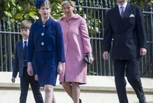 The Wessex Family / the queen's youngest son and his family