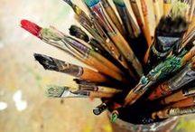 Studio Artist / Making art / by Linsey Strack