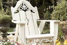 Adirondack Chairs / Adirondack Garden Chairs...my favorite!