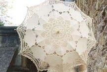 Parasols & Umbrellas / Old Parasols and new/vintage Umbrellas to make you swoon!