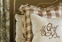 Brown Check / Home Accents and Decor fashioned in Brown Checks and Ginghams