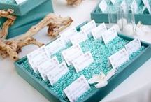 Place Card Inspiration Ideas / Get inspired by different couples' ideas that could incorporate the beach and nautical theme or the elegant ballroom look / by Marco Beach Ocean Resort