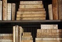 Books of Old / Wonderful Old Books and Literature / by Rebecca Elliott Nelson