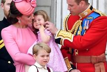 Cambridge Family / The duke and Duchess of Cambridge and their children