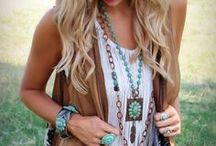 Bohemian Country Style / In the fashion world, bohemian, or boho, refers to a a state of mind regarding fashion that is individual, romantic, and free-spirited.