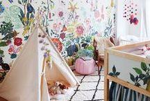 Nursery Decor & Kids Room / Woodland and boho styles