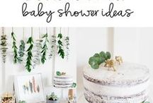 Baby Shower / Woodland and Bohemian styles mostly
