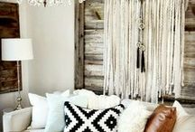 Shabby Chic Decor / A little bit of rustic in a bohemian style