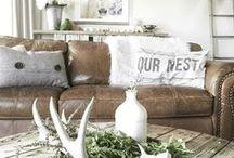 Farmhouse-Rustic Home Decor