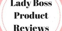Lady Boss Product Reviews / Lady Bosses product and service reviews. Beauty Review, Technology Review, Food Review, Fashion Review, Book Review, Entrepreneurial Review, App Review, Lifestyle Review, Home Review. Email ladybossblogger@gmail.com if you'd like to become a collaborator.