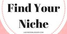 How To Find Your Niche / The best tools to help you narrow your focus on your blog, website, or business and cater to the audience you want! Niche ideas   Niche mems   Niche for bloggers   Why to choose a niche   Niche blogging topics   Niche blogger   Niche blogging tips   Niche blog ideas. Email ladybossblogger@gmail.com if you'd like to become a collaborator.