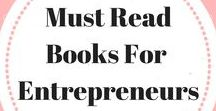 Must Read Books For Entrepreneurs / Helping entrepreneurs continue their education online. Entrepreneur book list   Entrepreneur books for business   Business books   Business books for women   Business books worth reading. Email ladybossblogger@gmail.com if you'd like to become a contributor.