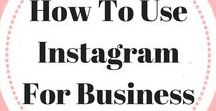 How To Use Instagram For Business / Helping you navigate Instagram for business through Instagram captions, Instagram picture ideas, finding the best Instagram theme, how to market through Instagram, how to become an Instagram influencer, Instagram bio ideas and more! Email ladybossblogger@gmail.com to become a collaborator!