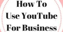 How To Use YouTube For Business / Helping you navigate the world of youtube for business.  Youtube video ideas   Youtube tips   Youtube for beginners   Youtube background ideas   Youtube setup   Youtube studio. Email ladybossblogger@gmail.com if you'd like to become a collaborator.