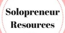 Solopreneur Resources / The best tools for solorpreneurs. Solopreneur sanity   Solopreneur worksheets   Solopreneur handbook   Solopreneur mindset   Solopreneur productivity tips and tricks   Solopreneur taxes   Solopreneur quotes   Solopreneur sidekick   Solopreneur virtual assistant. Email ladybossblogger@gmail.com if you'd like to become a contributor.