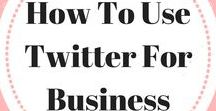 How To Use Twitter For Business / The best tools to help you navigate how to use Twitter for business. Twitter quotes   How to grow your blog with Twitter   How to optimize your Twitter account   How to use your Twitter analytics   How to grow your Twitter following   How to use Twitter to grow your business   How to create the best tweets   How to use Twitter for beginners. Email ladybossblogger@gmail.com if you'd like to become a collaborator.