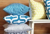Crafts - Pillows / pillows add color / by Sally Wheeler