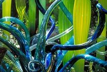 Art - Glass Artwork / Functional art, and art candy for the eye / by Sally Wheeler