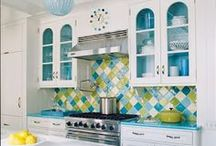 Deco - Kitchens / kitchens, the Heart of the Home / by Sally Wheeler