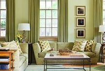Deco - Living rooms/ Family rooms / living it up in style / by Sally Wheeler