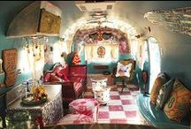 miranda lambert's cosmic cowgirl airstream / all the photos from Miranda Lambert's cosmic cowgirl airstream created by us here at Junk Gypsy. 1954 flying cloud airsteam named Wanda the Wanderer and decked out in glitter vinyl, sputnik chandeliers, and even a rhinestone cowboy . . or two.