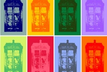 allonsy / Doctor+TARDIS / by rachel spazztastic