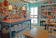 Craft room love / by Mamie Noll