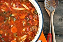 Recipes: Soups and Stews and Chowdahs and Chilis.