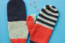 Mittens Knitting Patterns / Mitts, mitten and wrist warmer knitting patterns