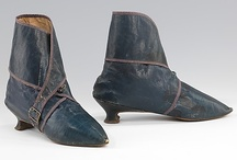 Shoes: 18th and early 19th C