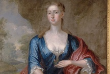 Blue 18th Century  / Robes and gowns, mostly blue and mostly early