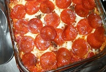 Food - Pizza and more / by Sally Wheeler
