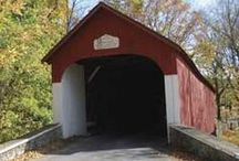 Architecture - Covered Bridges / by Sally Wheeler