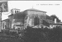 Castelnau-de-Médoc selected by Raymond PIOMBINO / Village du Médoc aux portes du Vignoble et dans la forêt des Landes de Gascogne : église du XIIème siècle. Comme le nom de la commune l'indique, il y avait autrefois un château qui fut détruit à la Révolution en 1790. Autres points intéressants : La Jalle (cours d'eau) de Castelnau, Château de Foulon (demeure du XIXème siècle avec chambres d'hôte), Château de l'Isle (demeure du XVIIIème siècle avec chambres d'hôte), Domaine de Carrat (demeure ancienne avec chambres d'hôtes). / by BCI & Médoc Marketing