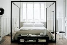 HOME • Bedroom / Bedroom interiors