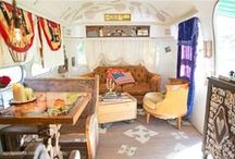 Dierks BenTley's JUNK GYPSY-fied AIRStream / the 1973 land yacht airstream that we GYpSy-fied for country singer, dierks Bentley on HGTV! / by JuNK GyPSY