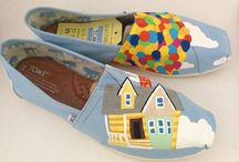 Hand-painted Toms / by Katie Bryant
