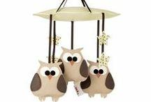 Déco bébé : Hibou / owl / Les hiboux sont encore à la mode cette année, voici quelques idées de déco pour une chambre de bébé sur les thèmes des hiboux. / by Berceau magique
